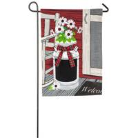 Evergreen Enterprises Porch Jug Garden Flag from Blain's Farm and Fleet