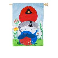 Evergreen Enterprises Portly Birds House Flag from Blain's Farm and Fleet