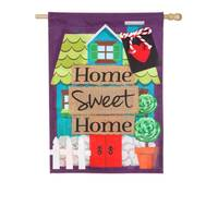Evergreen Enterprises Home Sweet Home House Flag from Blain's Farm and Fleet