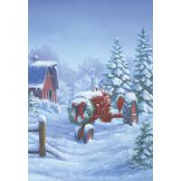 Leanin' Tree 10-Count Holiday Tractor Classic Christmas Cards from Blain's Farm and Fleet