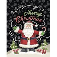 Leanin' Tree 12-Count Santa Notelet Christmas Cards from Blain's Farm and Fleet