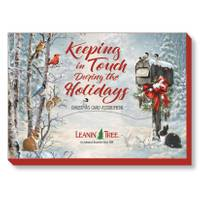 Leanin' Tree 20-Count Keeping In Touch Holiday Cards from Blain's Farm and Fleet