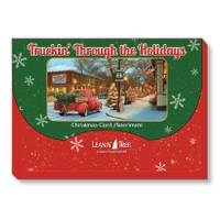 Leanin' Tree 20-Count Truckin' Through Holiday Cards from Blain's Farm and Fleet