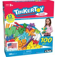 K'NEX 100-Piece Tinkertoy Set from Blain's Farm and Fleet