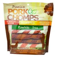 Pork Chomps 12-Piece Pork Chomp Assorted Twistz from Blain's Farm and Fleet