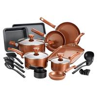 T-Fal 20-Piece Copper Cookware Set from Blain's Farm and Fleet