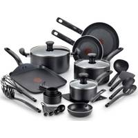 T-Fal 20-Piece Initiatives Non-Stick Cookware Set from Blain's Farm and Fleet