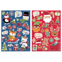 IG Design Group Holiday Bubble Stickers Assortment from Blain's Farm and Fleet