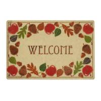 Mohawk Home Apple Wreath Welcome Printed Rug from Blain's Farm and Fleet