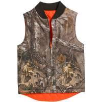 Carhartt Boys' Reversible Camo Vest from Blain's Farm and Fleet