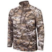 Huntworth Men's Lightweight Disruption 1/4 Zip Shirt from Blain's Farm and Fleet
