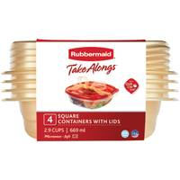 Rubbermaid 4-Pack TakeAlongs Square from Blain's Farm and Fleet