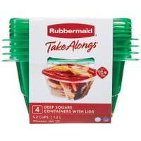 Rubbermaid 4 Piece TakeAlongs Deep Square from Blain's Farm and Fleet