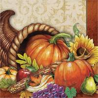 Creative Converting Bountiful Luncheon Napkin 16ct 2 ply from Blain's Farm and Fleet