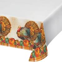 Creative Converting Traditional Plastic Tablecover from Blain's Farm and Fleet