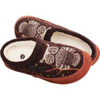 Acorn Women's Forest Mule Owl Slippers from Blain's Farm and Fleet
