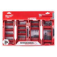 Milwaukee 74-Piece Shockwave Impact Set from Blain's Farm and Fleet