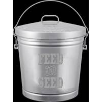 Behrens 10 Gallon Embossed Feed & Seed Storage Can from Blain's Farm and Fleet