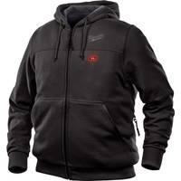 Milwaukee Men's M12 Black Hooded Heated Sweatshirt from Blain's Farm and Fleet