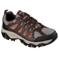 Skechers Men's Navy & Charcoal Terrabite Shoes from Blain's Farm and Fleet