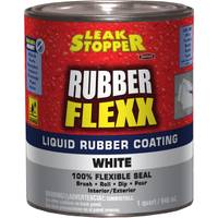 Leak Stopper 1 Quart Rubber Flexx Liquid White Sealant from Blain's Farm and Fleet