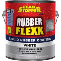 Leak Stopper 1 Gallon Rubber Flexx White Liquid Sealant from Blain's Farm and Fleet
