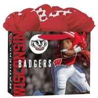 Lang Wisconsin Badgers Medium GoGo Gift Bag from Blain's Farm and Fleet