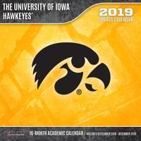 Lang Iowa Hawkeyes 2019 12x12 Wall Calendar from Blain's Farm and Fleet