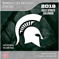 Lang Michigan State Spartans Box Calendar from Blain's Farm and Fleet