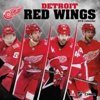 Lang Detroit Red Wings 2019 12x12 Wall Calendar from Blain's Farm and Fleet