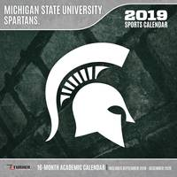 Lang Michigan State Spartans 2019 Wall Calendar from Blain's Farm and Fleet