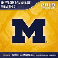 Lang Michigan Wolverines 2019 12x12 Wall Calendar from Blain's Farm and Fleet