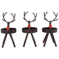 Pomeroy 3-Piece Baby Reindeer Tea Light Set from Blain's Farm and Fleet