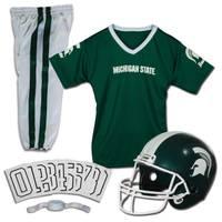 Franklin Michigan State Spartans Deluxe Medium Uniform Set from Blain's Farm and Fleet