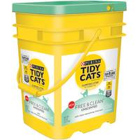 Tidy Cats 35 lb Free & Clean Unscent Scoop Clumping Litter from Blain's Farm and Fleet
