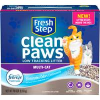 Fresh Step 18 lb Fresh Step Clean Paws Multi Cat Litter from Blain's Farm and Fleet