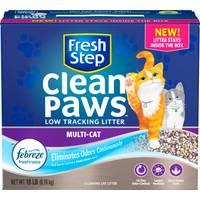 Fresh Step 18 lb Fresh Step Clean Paws Multi Cat Litter from Blain's Farm and Fleet