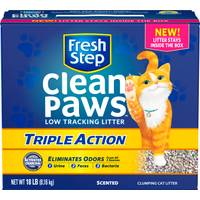 Fresh Step 18 lb Fresh Step Clean Paws Triple Act Litter from Blain's Farm and Fleet