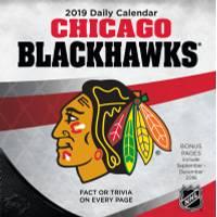 Lang Chicago Blackhawks 2019 Box Calendar from Blain's Farm and Fleet