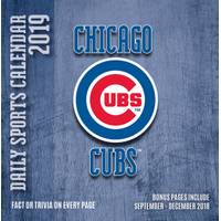 Lang Chicago Cubs 2019 Box Calendar from Blain's Farm and Fleet