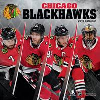 Lang Chicago Blackhawks 2019 Mini Wall Calendar from Blain's Farm and Fleet