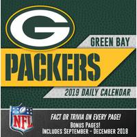 Lang Green Bay Packers 2019 Box Calendar from Blain's Farm and Fleet