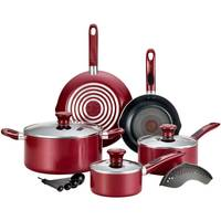 T-Fal 14-Piece Rio Red Excite Cookware Set from Blain's Farm and Fleet