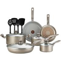 T-Fal 14-Piece Initiative Champagne Ceramic Set from Blain's Farm and Fleet