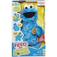 Hasbro Sesame Street Fd Me Cookie Monster Plush from Blain's Farm and Fleet