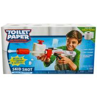 Jakks Pacific Toilet Paper Blasters Skid Shot from Blain's Farm and Fleet