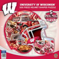 MasterPieces 500-Piece Wisconsin Badgers Helmet Puzzle from Blain's Farm and Fleet