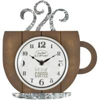Firstime Manufactory Coffee House Wall Clock from Blain's Farm and Fleet