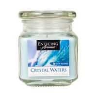 Enticing Aromas 10oz Crystal Waters Candle from Blain's Farm and Fleet
