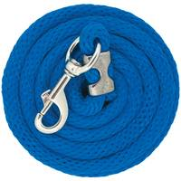 Weaver Leather 10' Chrome Brass Poly Lead Rope, Blue from Blain's Farm and Fleet